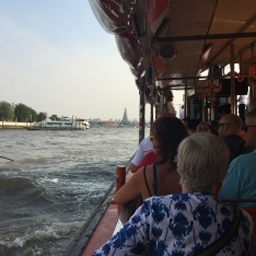 taking the river boat express